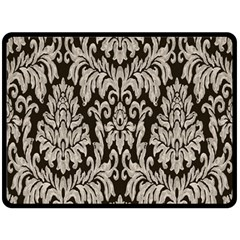 Wild Textures Damask Wall Cover Fleece Blanket (Large)