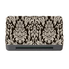 Wild Textures Damask Wall Cover Memory Card Reader with CF