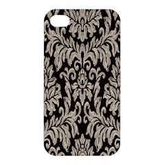 Wild Textures Damask Wall Cover Apple iPhone 4/4S Hardshell Case