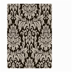 Wild Textures Damask Wall Cover Small Garden Flag (Two Sides)