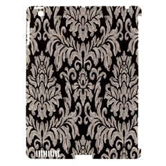 Wild Textures Damask Wall Cover Apple iPad 3/4 Hardshell Case (Compatible with Smart Cover)