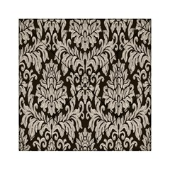 Wild Textures Damask Wall Cover Acrylic Tangram Puzzle (6  x 6 )