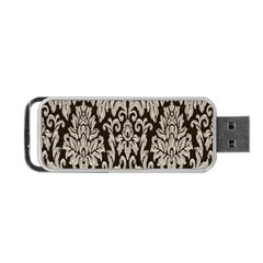 Wild Textures Damask Wall Cover Portable USB Flash (One Side)