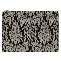Wild Textures Damask Wall Cover Cosmetic Bag (XXL)