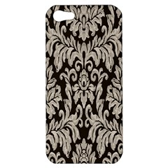 Wild Textures Damask Wall Cover Apple iPhone 5 Hardshell Case
