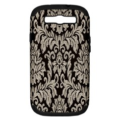 Wild Textures Damask Wall Cover Samsung Galaxy S III Hardshell Case (PC+Silicone)