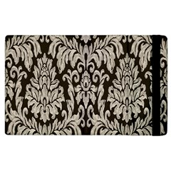 Wild Textures Damask Wall Cover Apple iPad 3/4 Flip Case