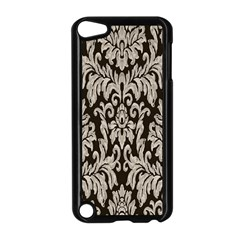 Wild Textures Damask Wall Cover Apple iPod Touch 5 Case (Black)