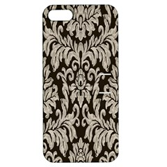 Wild Textures Damask Wall Cover Apple iPhone 5 Hardshell Case with Stand