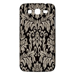 Wild Textures Damask Wall Cover Samsung Galaxy Mega 5.8 I9152 Hardshell Case