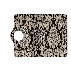 Wild Textures Damask Wall Cover Kindle Fire HD (2013) Flip 360 Case