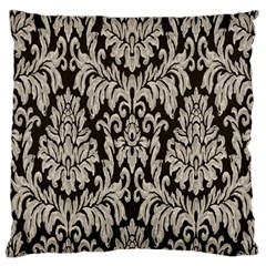 Wild Textures Damask Wall Cover Large Flano Cushion Case (One Side)