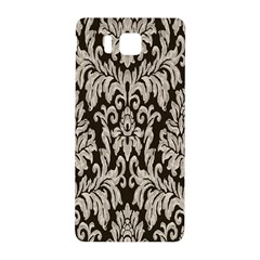 Wild Textures Damask Wall Cover Samsung Galaxy Alpha Hardshell Back Case