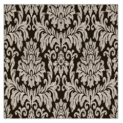 Wild Textures Damask Wall Cover Large Satin Scarf (Square)