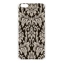 Wild Textures Damask Wall Cover Apple Seamless iPhone 6 Plus/6S Plus Case (Transparent)