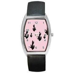 Tree Kartus Pink Barrel Style Metal Watch