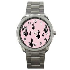 Tree Kartus Pink Sport Metal Watch