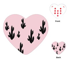 Tree Kartus Pink Playing Cards (Heart)