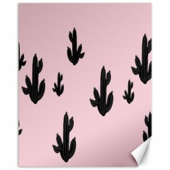 Tree Kartus Pink Canvas 11  x 14