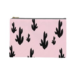 Tree Kartus Pink Cosmetic Bag (Large)