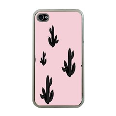 Tree Kartus Pink Apple iPhone 4 Case (Clear)