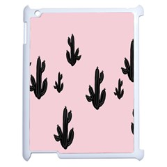 Tree Kartus Pink Apple iPad 2 Case (White)