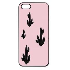 Tree Kartus Pink Apple iPhone 5 Seamless Case (Black)