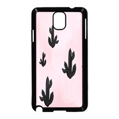 Tree Kartus Pink Samsung Galaxy Note 3 Neo Hardshell Case (Black)