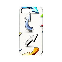 Three Dimensional Crystal Arrow Apple iPhone 5 Classic Hardshell Case (PC+Silicone)