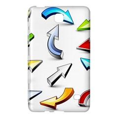 Three Dimensional Crystal Arrow Samsung Galaxy Tab 4 (8 ) Hardshell Case