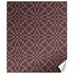 Simple Indian Design Wallpaper Batik Canvas 20  x 24
