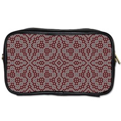 Simple Indian Design Wallpaper Batik Toiletries Bags 2-Side