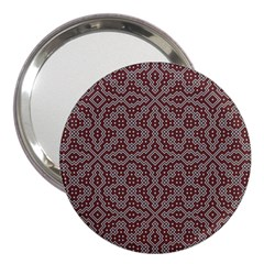 Simple Indian Design Wallpaper Batik 3  Handbag Mirrors