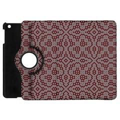 Simple Indian Design Wallpaper Batik Apple iPad Mini Flip 360 Case