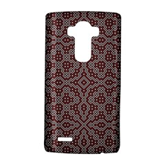 Simple Indian Design Wallpaper Batik LG G4 Hardshell Case