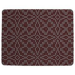 Simple Indian Design Wallpaper Batik Jigsaw Puzzle Photo Stand (Rectangular)