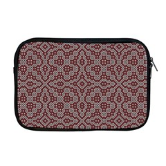 Simple Indian Design Wallpaper Batik Apple Macbook Pro 17  Zipper Case