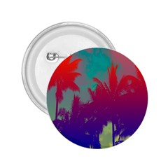 Tropical Coconut Tree 2.25  Buttons