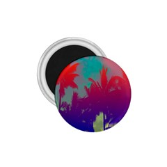Tropical Coconut Tree 1.75  Magnets