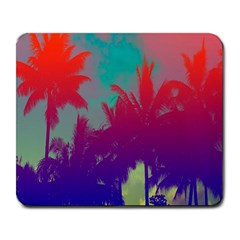 Tropical Coconut Tree Large Mousepads