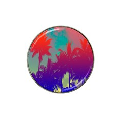 Tropical Coconut Tree Hat Clip Ball Marker