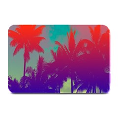 Tropical Coconut Tree Plate Mats