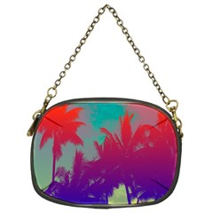Tropical Coconut Tree Chain Purses (One Side)