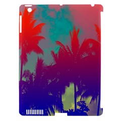 Tropical Coconut Tree Apple iPad 3/4 Hardshell Case (Compatible with Smart Cover)