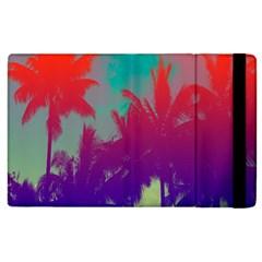 Tropical Coconut Tree Apple iPad 2 Flip Case