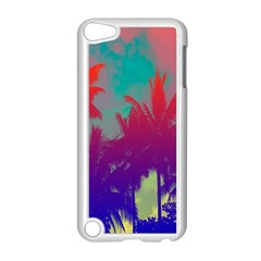 Tropical Coconut Tree Apple iPod Touch 5 Case (White)