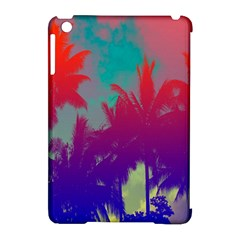 Tropical Coconut Tree Apple iPad Mini Hardshell Case (Compatible with Smart Cover)