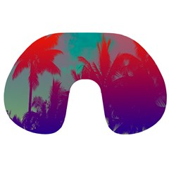 Tropical Coconut Tree Travel Neck Pillows