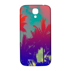 Tropical Coconut Tree Samsung Galaxy S4 I9500/I9505  Hardshell Back Case