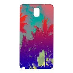 Tropical Coconut Tree Samsung Galaxy Note 3 N9005 Hardshell Back Case